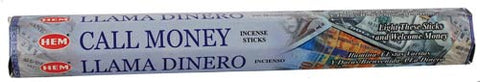 Call Money HEM Stick Incense 20 Pack - 90 Days From Now Manifestation Planner