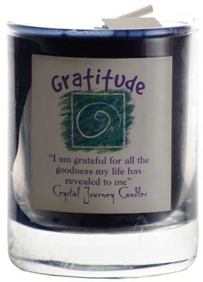Gratitude Soy Votive Candle - 90 Days From Now Manifestation Planner
