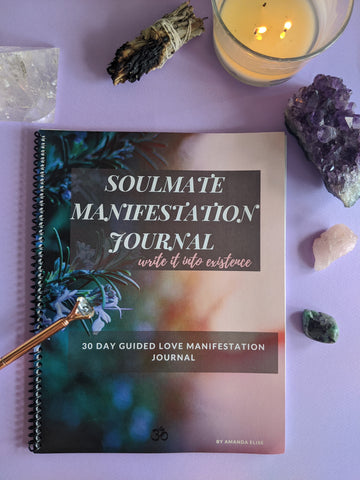 Soulmate Manifestation Guided Journal - 90 Days From Now Manifestation Planner