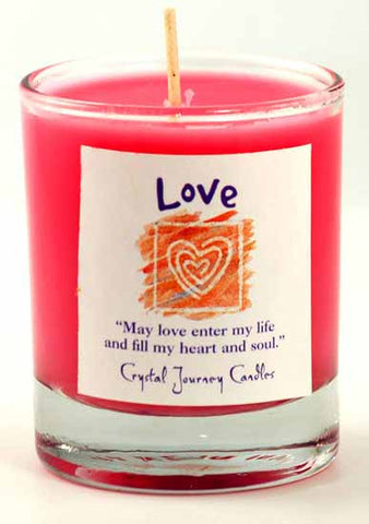 Love Soy Votive Candle - 90 Days From Now Manifestation Planner