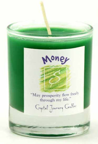 Money Soy Votive Candle - 90 Days From Now Manifestation Planner