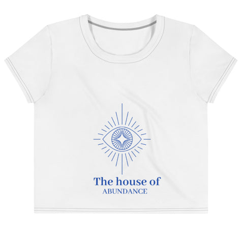 House of Abundance Cropped Tee - 90 Days From Now Manifestation Planner