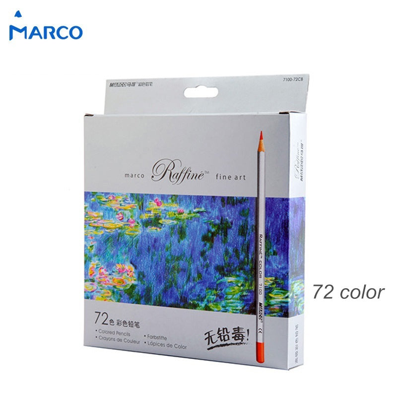 Marco pack of 72 colored pencils