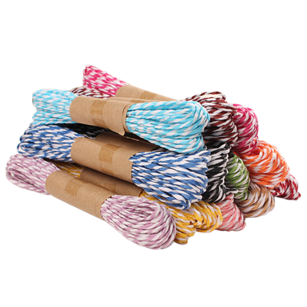 Twisted Paper Raffia for Scrapbooking, Crafting and Projects