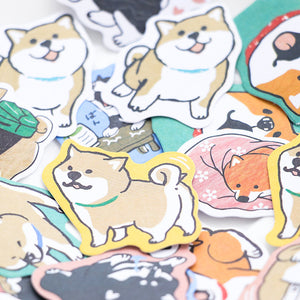 Doggy Stickers for Stationery Scrapbooking