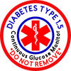 Medical Alert CGM - Do Not Remove - Type 1.5