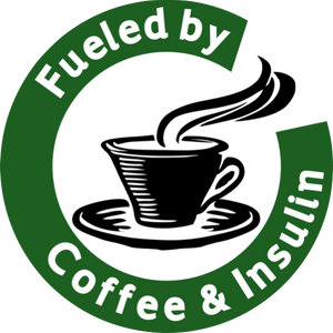 Fueled by Coffee & Insulin - Green