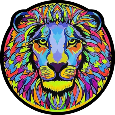 Lion of Many Colors