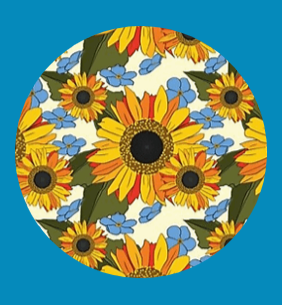 SUNFLOWERS & FORGET-ME-NOTS