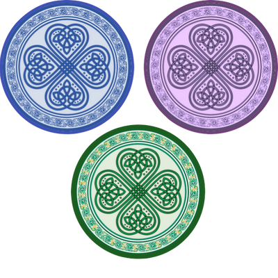 Celtic Charm - 3 Pack (same device cut)