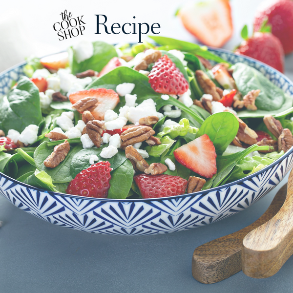The Cook Shop Strawberry Spinach Salad