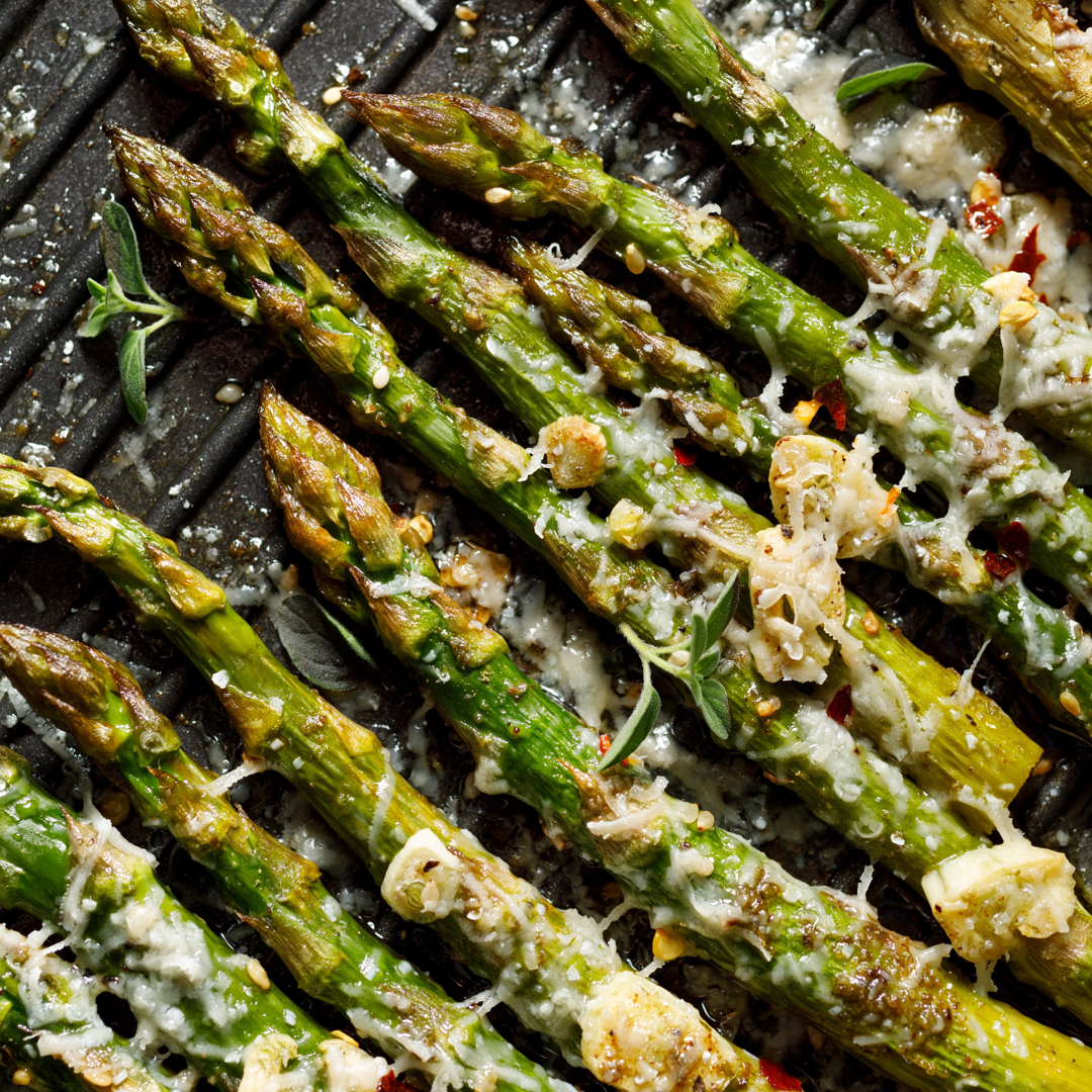 The Cook Shop Cajun Parmesan Asparagus