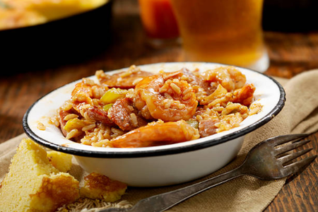 THE COOK SHOP CAJUN JAMBALAYA