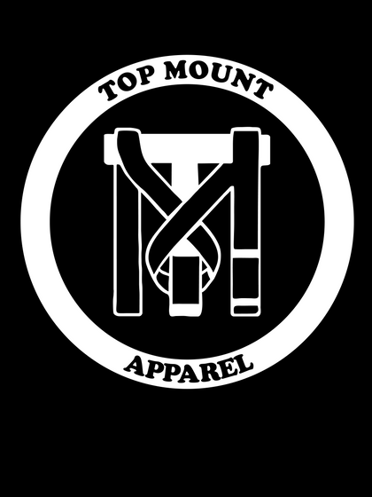 Top Mount Apparel and Proud BJJ White Belt Decals