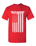 Top Mount Apparel American Flag RED Friday Kids Tee
