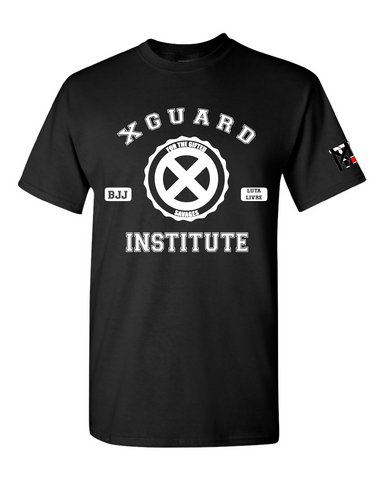 X Guard Institute for the gifted savages Jiu Jitsu Tee