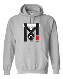 Top Mount Apparel Official Sports Grey TM Hoodie