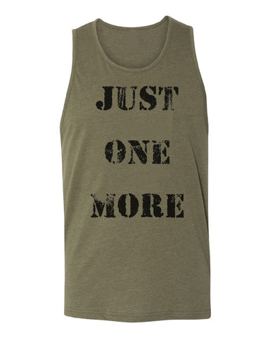 The Just One More Unisex Tank Top