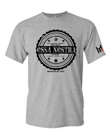 OSSA NOSTRA (This thing of ours) Top Mount Kids Who Roll Tee