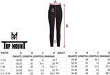 Top Mount Apparel Unisex Compression Pants Tights MMA BJJ Spats