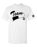Team White Belt The Official Proud BJJ White Belt T-Shirt