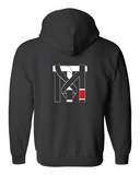 Official Top Mount Full Zip Up Hoodie