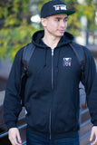 Estilo Top Mount Full Zip Up Hoodie