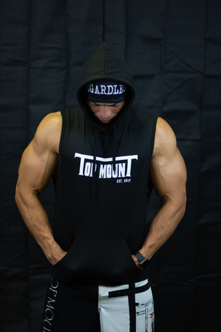 Top mounT Est. Sleeveless Gym Hoodie