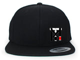 Top Mount Apparel KIDS Jiu Jitsu RANKED Flat Bill Snap Back Hat
