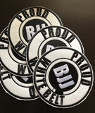 Proud BJJ White Belt Gi Patch