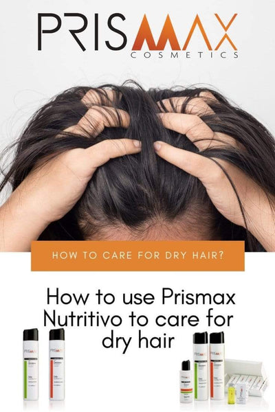 How To Use Prismax Nutritivo To Care For Dry Hair
