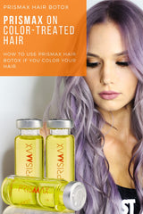 Prismax on color-treated hair