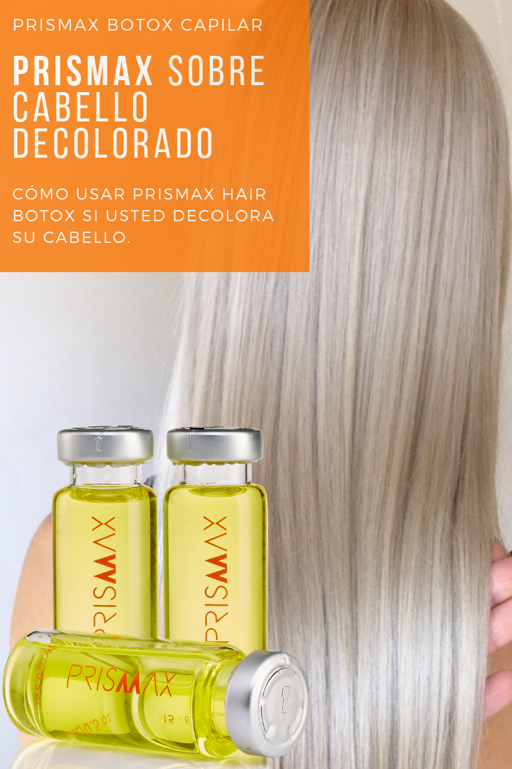 Prismax Hair Botox on Bleached Hair