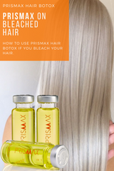 Using Prismax Hair Botox on bleached hair