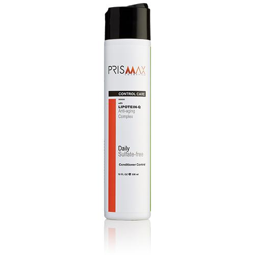 Prismax Control Conditioner with Lipotein-Q (Anti-Aging Keratin) - Sulfate-Free - 10oz - Prismax Cosmetics