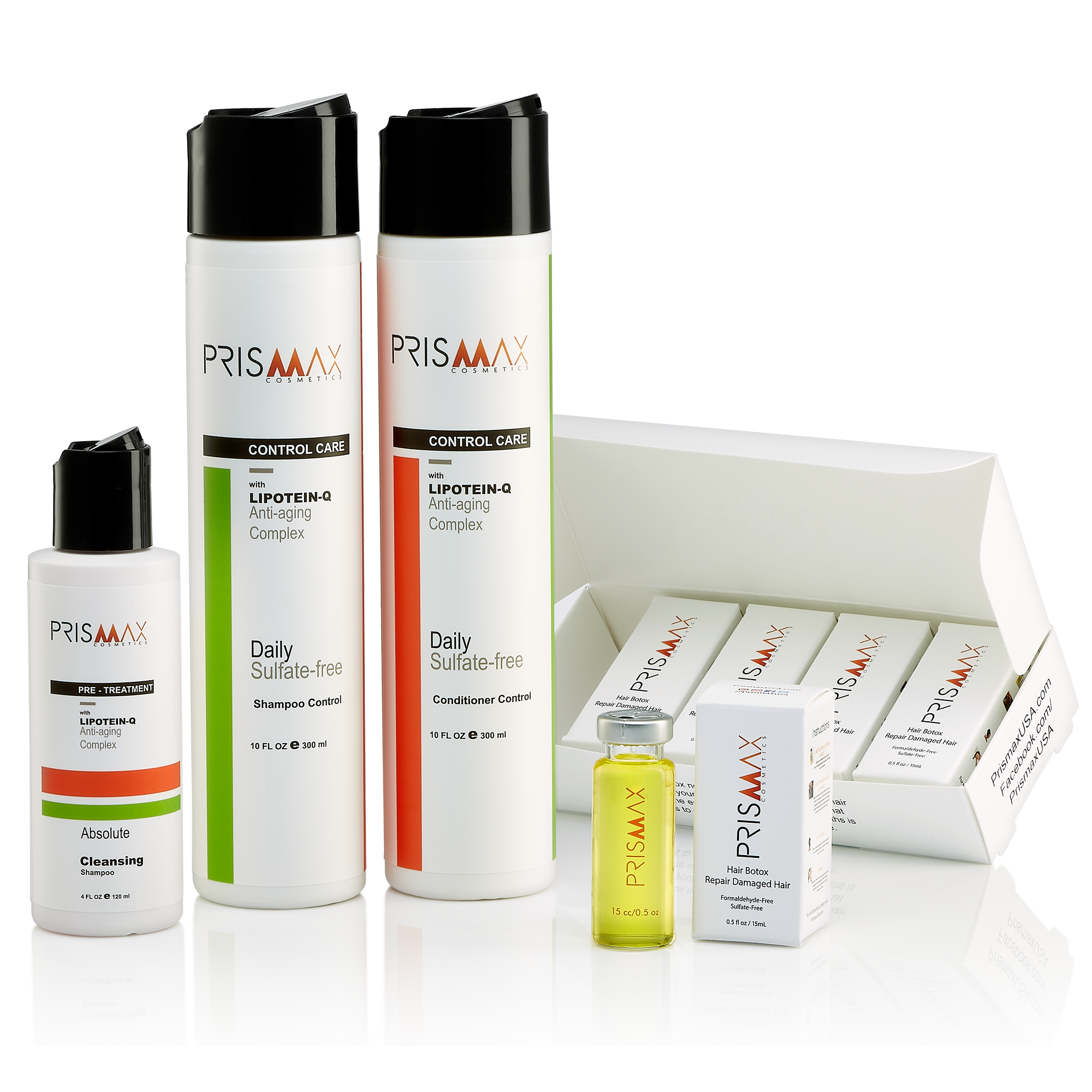 Prismax Hair Botox Starter Kit 5 Treatments