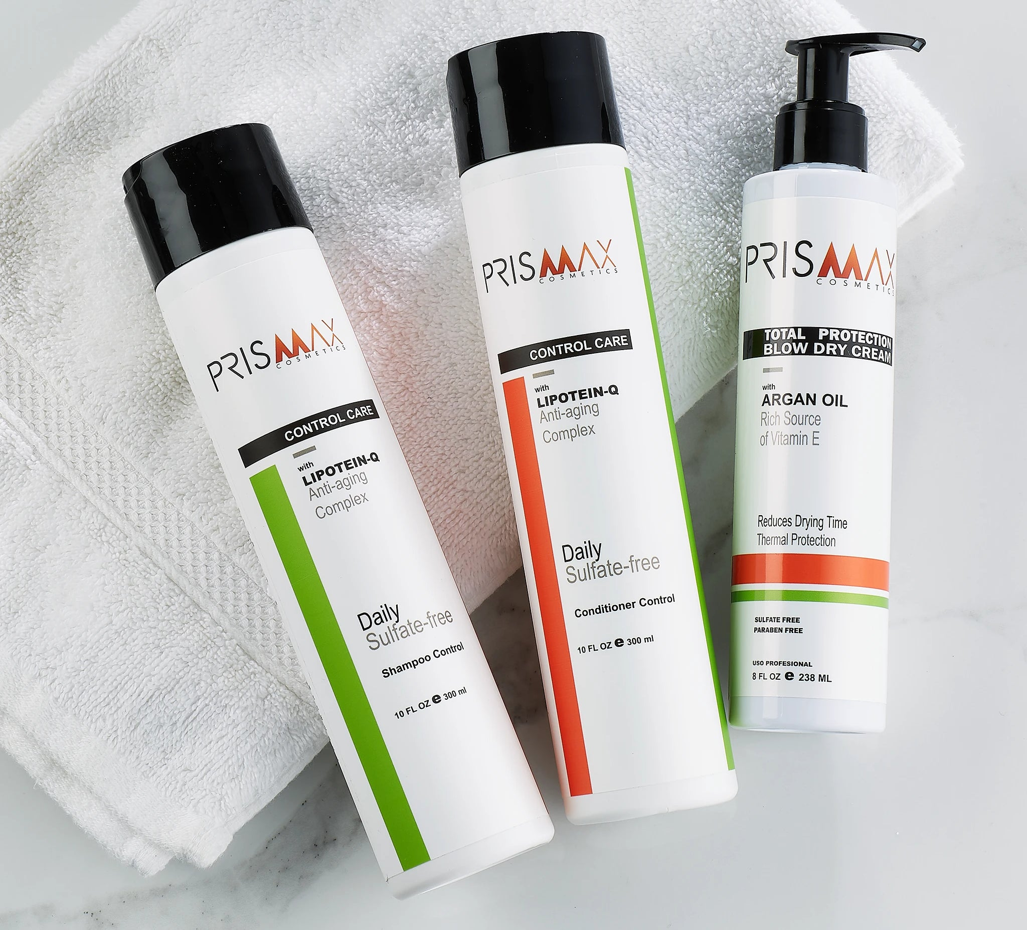 Prismax Shampoos and Conditioners Collection