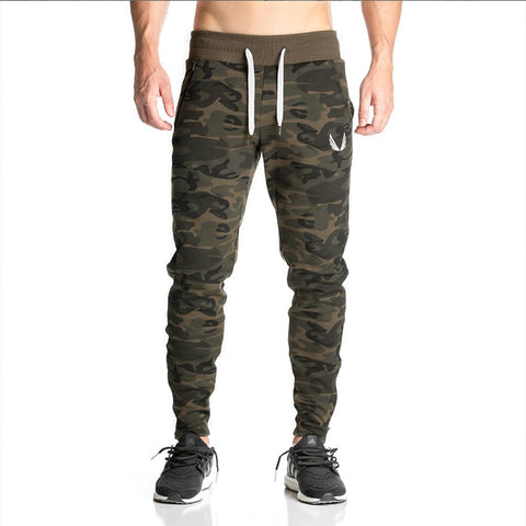 Camo sweatpants joggers