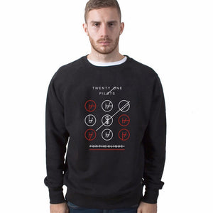 Twenty One Pilots Black/Gray Sweatshirt