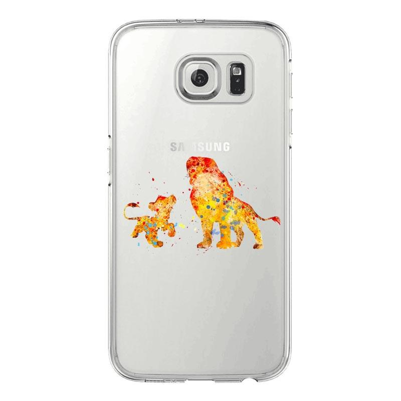 coque samsung galaxy s6 roi lion