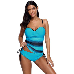 KELLIPS Blue Sweetheart Tankini Swimsuit - KELLIPS