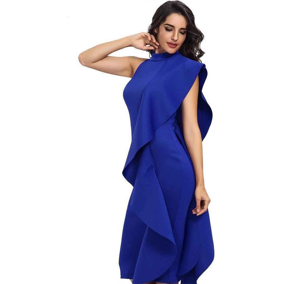 8959bab1b0d9a KELLIPS New Style Spring Women Sexy Sleeveless Patchwork Bodycon Party