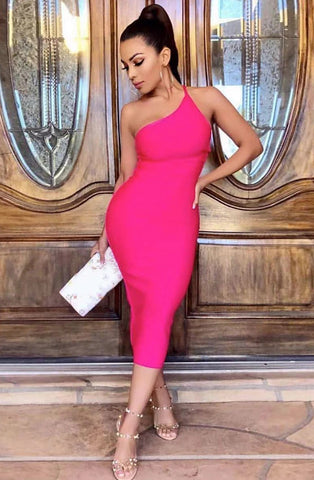 KELLIPS Elegant Summer Bodycon Backless Sexy Party Dress