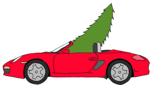 Boxster Christmas Tree