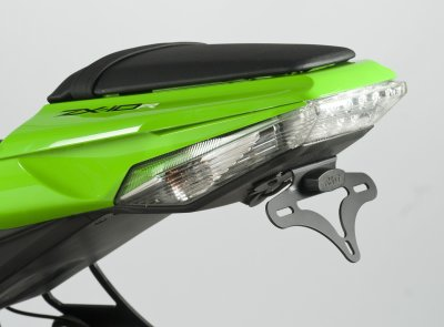 R&G Racing Tail Tidy / License Plate Holder - 2011-2012 Kawasaki ZX-10R