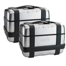 GIVI TRK46N Trekker Top/Side Case - 46 Litters/Case (Pairs)