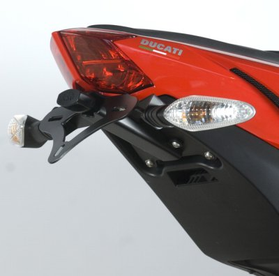R&G Racing Tail Tidy / License Plate Holder - 2012 Ducati Streetfighter 848