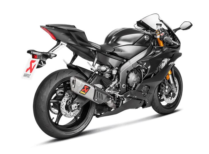 Akrapovic evolution line titanium full exhaust system for Best exhaust system for yamaha r6