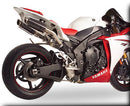 Hotbodies Racing MGP Growler Carbon Slip-on Exhaust System 2009-2012 Yamaha R1