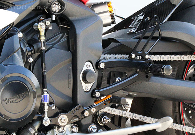 Sato Racing Rear Set Kit For 2013-2017 Triumph Daytona 675 / R